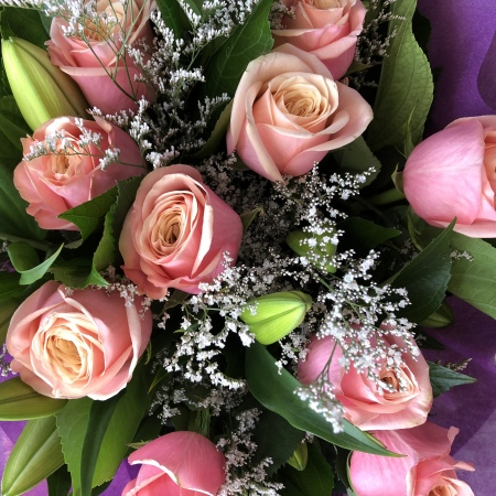 To the one i Love-Valentines day flowers-Melbourne Delivery