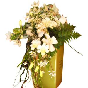 Golden Trailing Vase Arrangement
