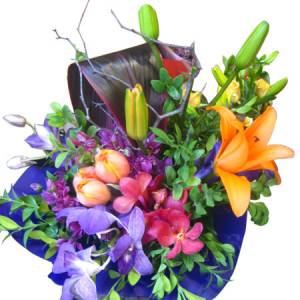 Bright and Cheerful Colourful Bouquet.