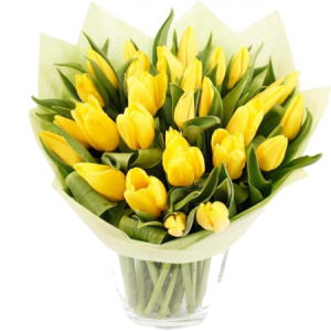 A Lovely Tulip Bouquet for gifting.