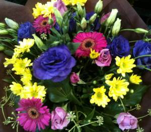 Colours of the Rainbow Bouquet