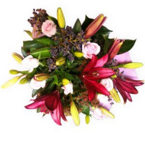 Rich pinks Colour Bouquet for all occasions.