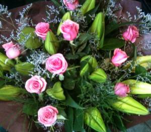 Perfumed Misty Pink Bouquet.