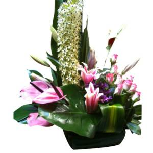 Attractive Scented Vase Arrangement