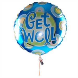 Large Get well  balloon