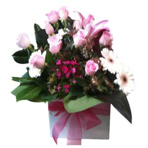 Gorgeous Baby Girl Mini Boxed Arrangement