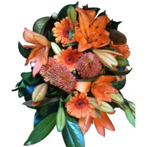 Orange Bouquet Delight