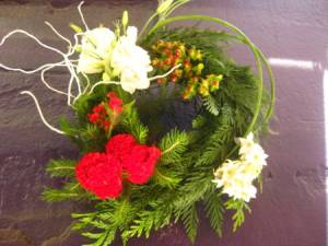 Christmas Wreath Modern