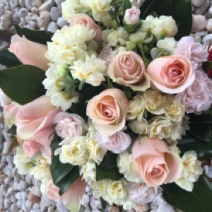 Pastel perfection-Fresh flowers Melbourne